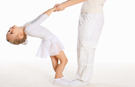 Как научить ребенка танцевать